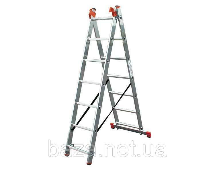 Трехсекционные лестницы KRAUSE Трёхсекционная лестница KRAUSE Tribilo 3x6 ступеней