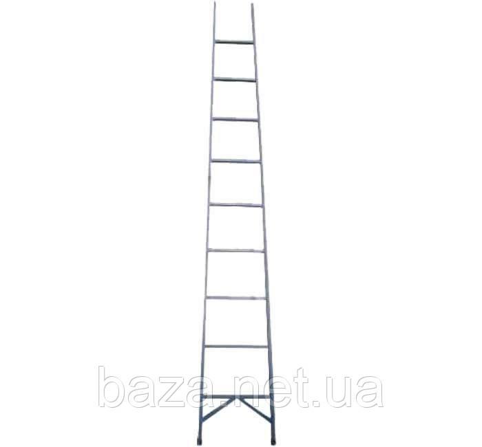 Лестницы из стекловолокна ЗИМ Диэлектрическая лестница приставная ЗИМ 5 ступеней