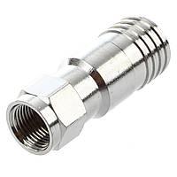 Разъем F- серии для кабеля RG-11(компрессионный) Q100