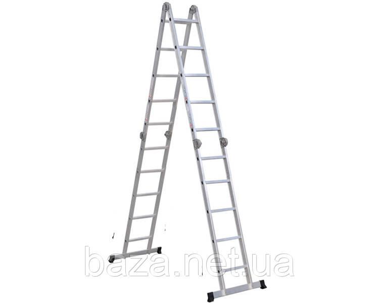 Шарнирные лестницы VIRASTAR Шарнирная лестница-стремянка VIRASTAR Hercules 4x5 ступеней