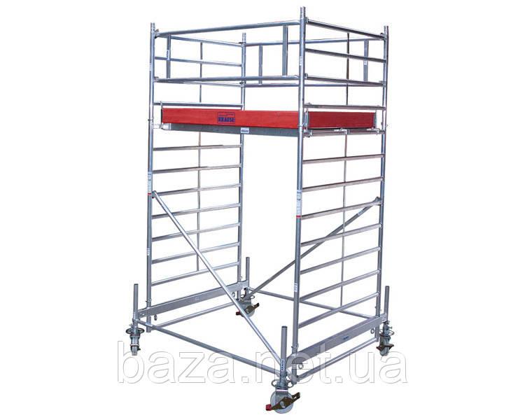 Алюминиевые вышки-туры KRAUSE Передвижная вышка-тура KRAUSE STABILO серия 500 (2,0x1,5 м) раб. высота 5,4 м