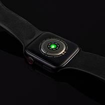 Смарт часы T500 Smart Watch, диагональ 1.54, умные часы, фитнес браслет. Металлический корпус., фото 3