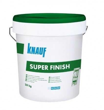 Шпатлевка KNAUF Super Finish пастоподобная, 28 кг