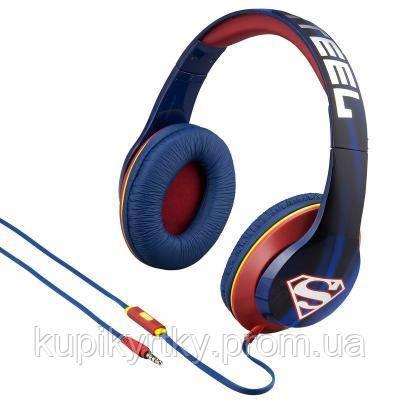 Наушники eKids iHome Warner Bros Superman Mic (RI-M40SU.FXV7)