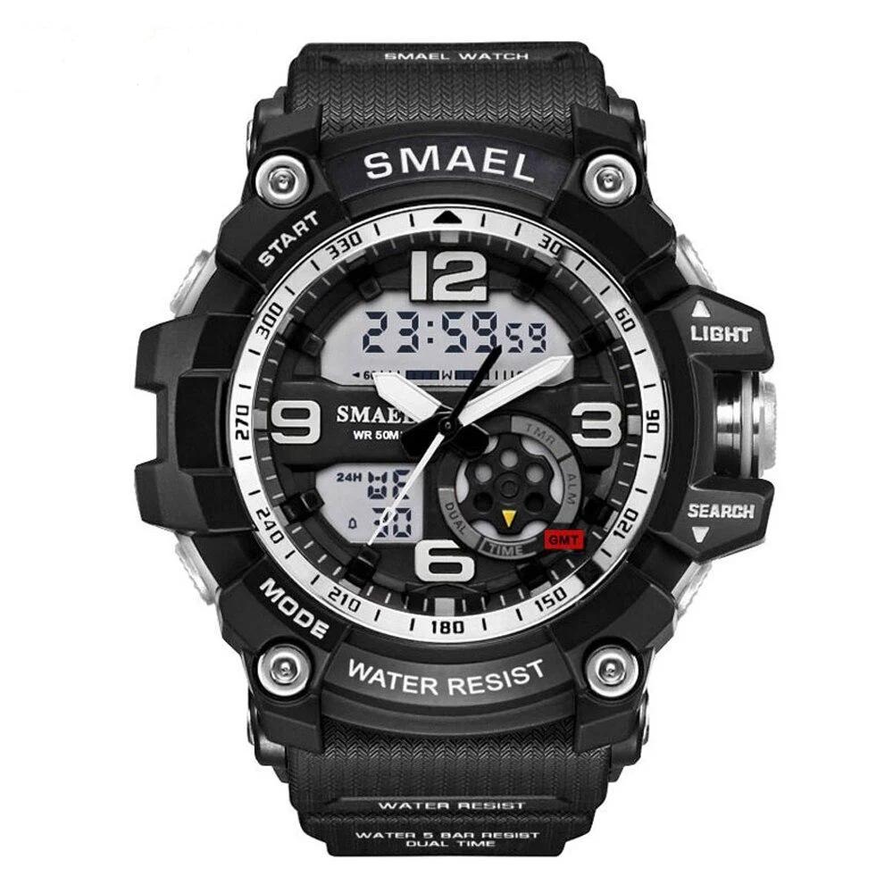 Мужские спортивные  часы Smael 1617 черные