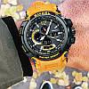 Мужские спортивные  часы Smael 1702 оранжевые, фото 4