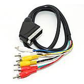 Кабель-Перехідник HDMI-VGA-DVI-Аудіо