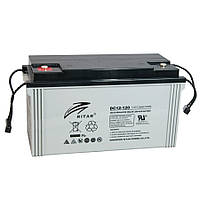 Аккумуляторная батарея AGM RITAR DC12-120, Gray Case, 12V 120Ah ( 407 x 177 x 225 ) Q1