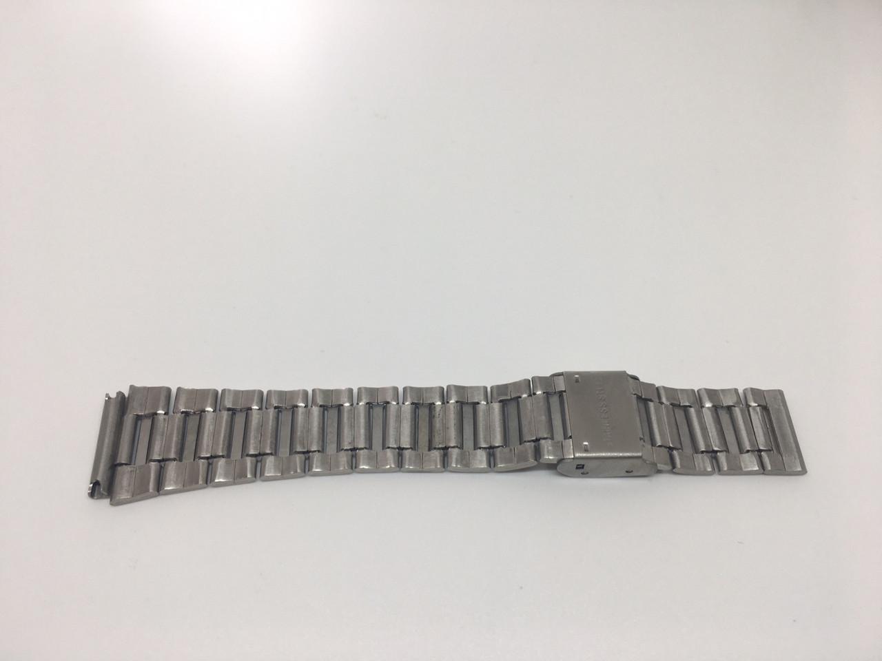 Ремешок на часы Skmei 1123 Серебристый БЕЗ НАЛОЖКИ!