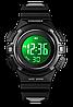 Детские спортивные часы Skmei 1485 черные, фото 4
