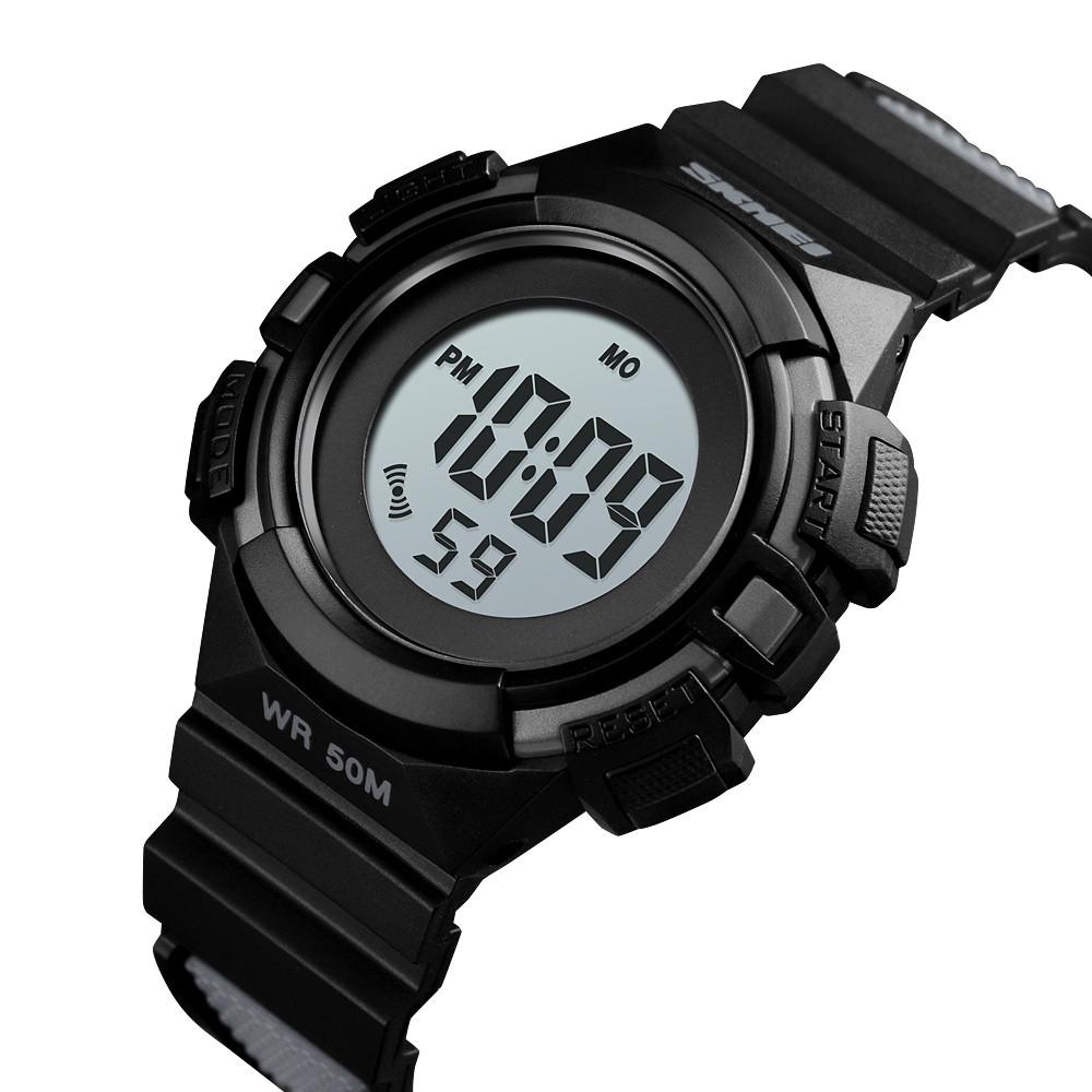 Детские спортивные часы Skmei 1485 черные