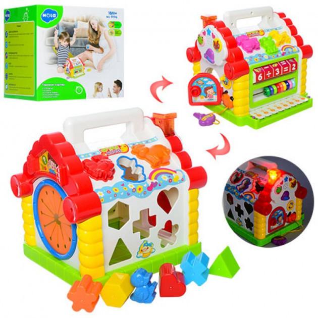 Развивающая игрушка Теремок-Сортер