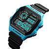 Мужские спортивные часы Skmei 1299 синие, фото 2