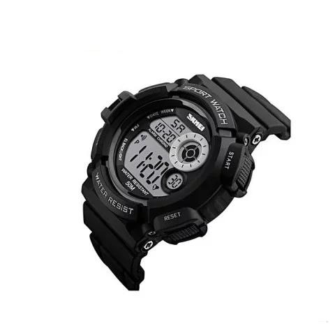 Мужские спортивные часы Skmei 1222 черные