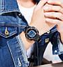 Мужские спортивные часы Skmei 1545 черные с белым циферблатом, фото 4