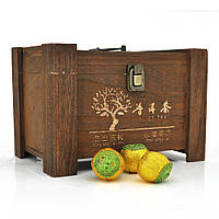 Китайський зелений чай Xinhui Orange Puer зі смаком апельсина, 5,5g, ціна за штуку, Q30