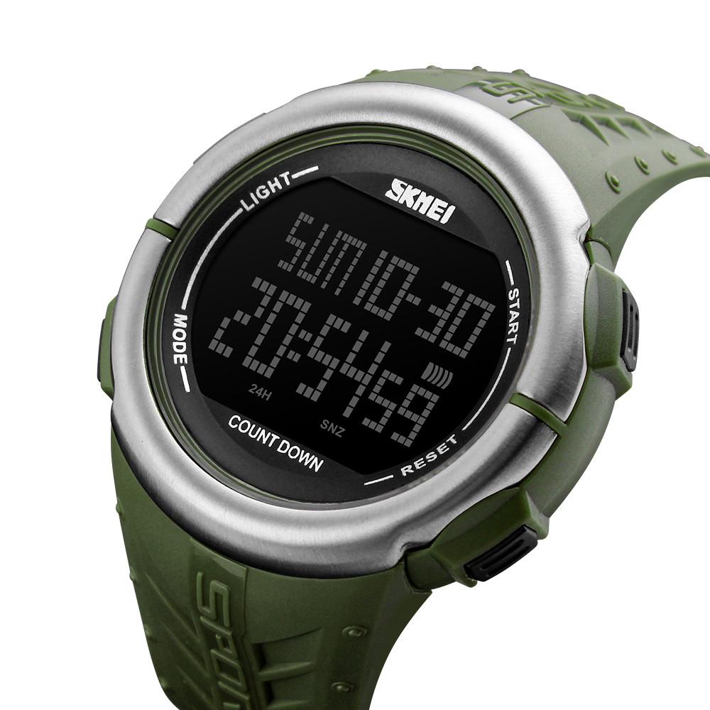 Мужские спортивные часы Skmei 1286 Зеленые