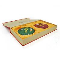 Набір китайського чорного чаю Jishun Puer, 2 x 357g,  ціна за упаковку, Q1