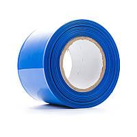 Термоплівка PVC для складання акб LiFePO4, синя, ширина 250мм, довжина 10м