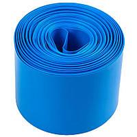 Термоплівка PVC для складання акб LiFePO4, синя, ширина 110мм, довжина 25м