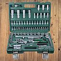 """Автомобильный набор инструментов для авто кейсы. Набор насадок торцевых и биты 1/4"""", 1/2"""" 94шт GRAD (6004565), фото 2"""