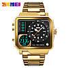 Мужские спортивные часы Skmei 1392 золотые, фото 4