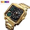 Мужские спортивные часы Skmei 1392 золотые, фото 2