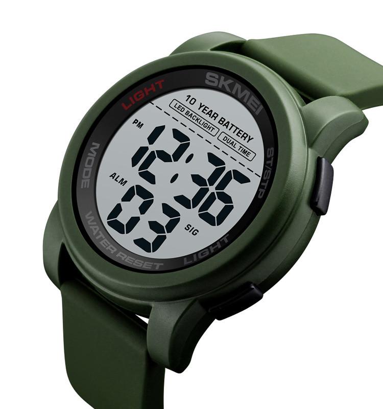 Мужские спортивные часы Skmei 1564 зеленые