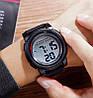 Мужские спортивные часы Skmei 1564 черные, фото 10
