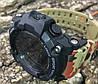 Мужские спортивные смарт часы Skmei 1227 красный камуфляж, фото 8
