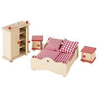 Набор для кукол Goki Мебель для спальни 51954G, КОД: 2426949