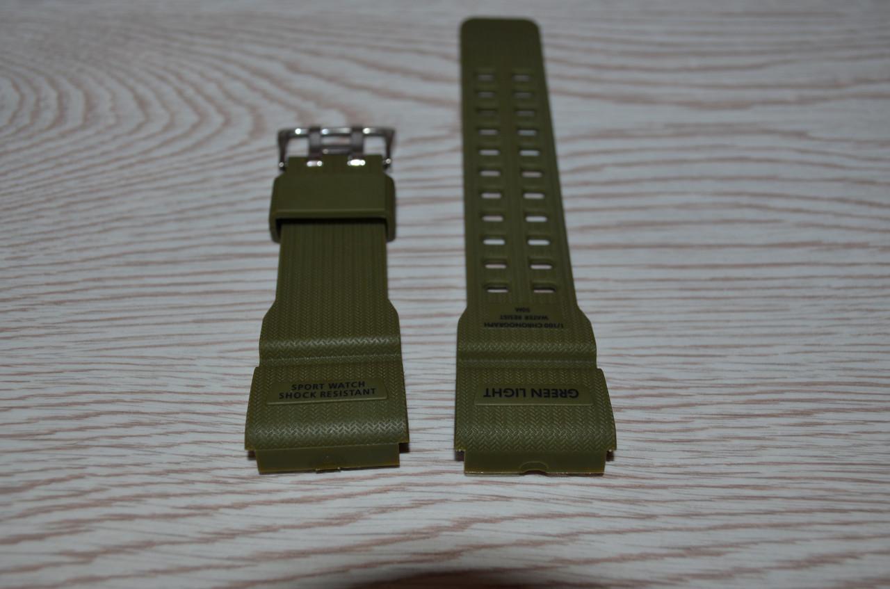Ремешок на часы Skmei 1227 зеленый БЕЗ НАЛОЖКИ!