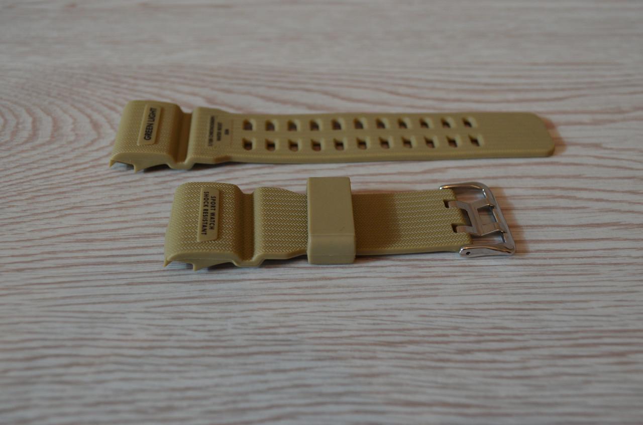 Ремешок на часы Skmei 1385 хаки БЕЗ НАЛОЖКИ!