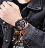 Skmei 1546 drum черные мужские часы, фото 3