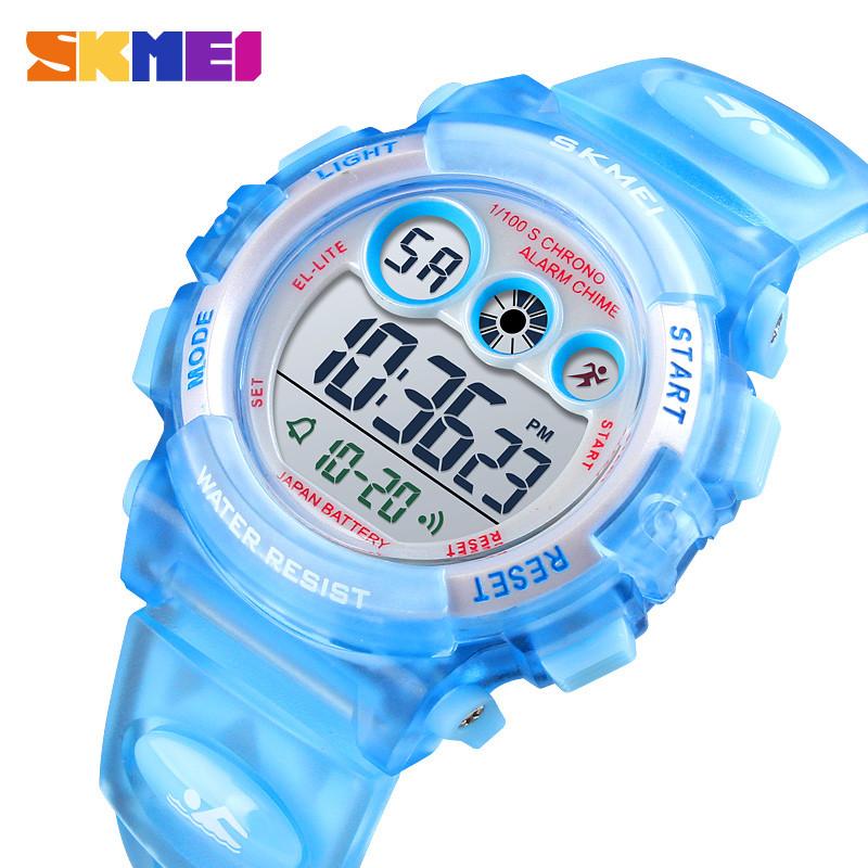 Детские спортивные часы Skmei 1451 голубые