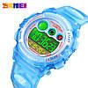 Детские спортивные часы Skmei 1451 голубые, фото 2