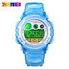 Детские спортивные часы Skmei 1451 голубые, фото 4