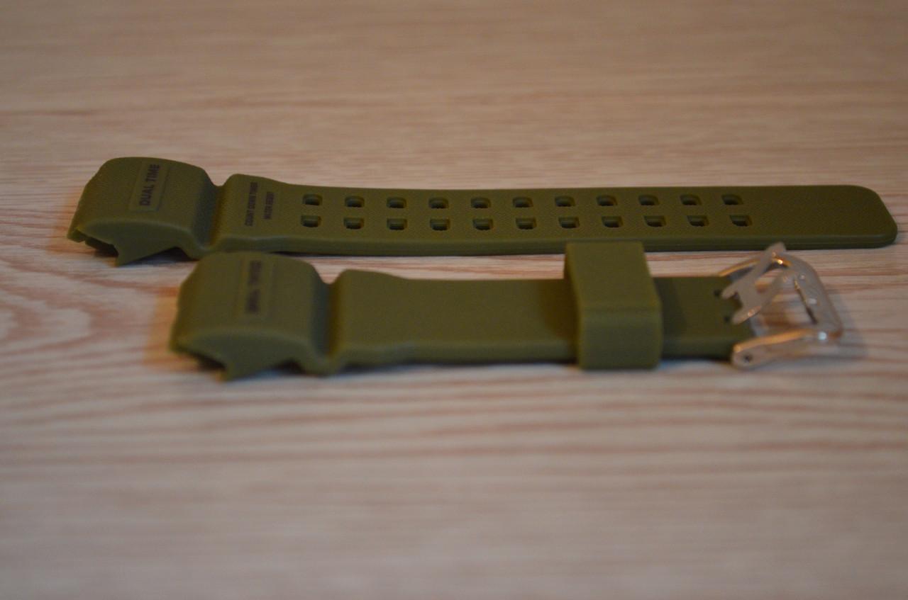 Ремешок на часы Skmei 1358 Зелёный БЕЗ НАЛОЖКИ!