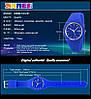 Женские часы Skmei 9068 rubber темно синие, фото 3