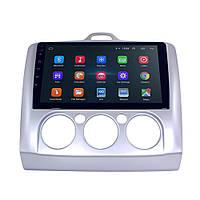 """Штатная автомобильная магнитола 9"""" Ford Focus 2 (2005-2011 г.) GPS Wi Fi IGO Android 8.1, фото 1"""