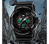 Мужские спортивные часы Skmei 0966 черные, фото 3