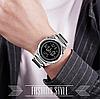 Мужские часы Skmei 1611 серебристые мужские часы, фото 5