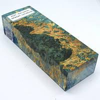 Стабилизированная древесина брусок Кап клена КРИЛАТ 127х45х30, фото 1