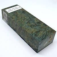 Стабилизированная древесина брусок Кап вяза КРИЛАТ 127х44х30, фото 1