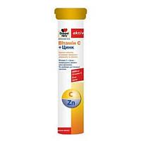 Доппельгерц Витамин С+Цинк таблетки шипучие №15