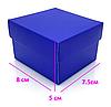 Синяя подарочная коробка для часов, фото 3