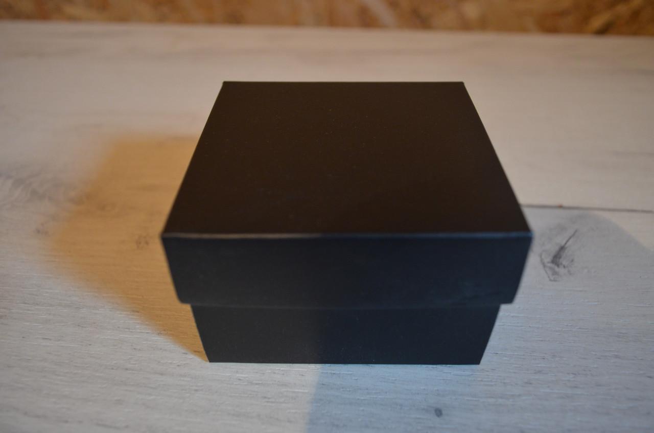 Черная подарочная коробка для часов