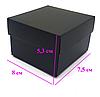 Черная подарочная коробка для часов, фото 5