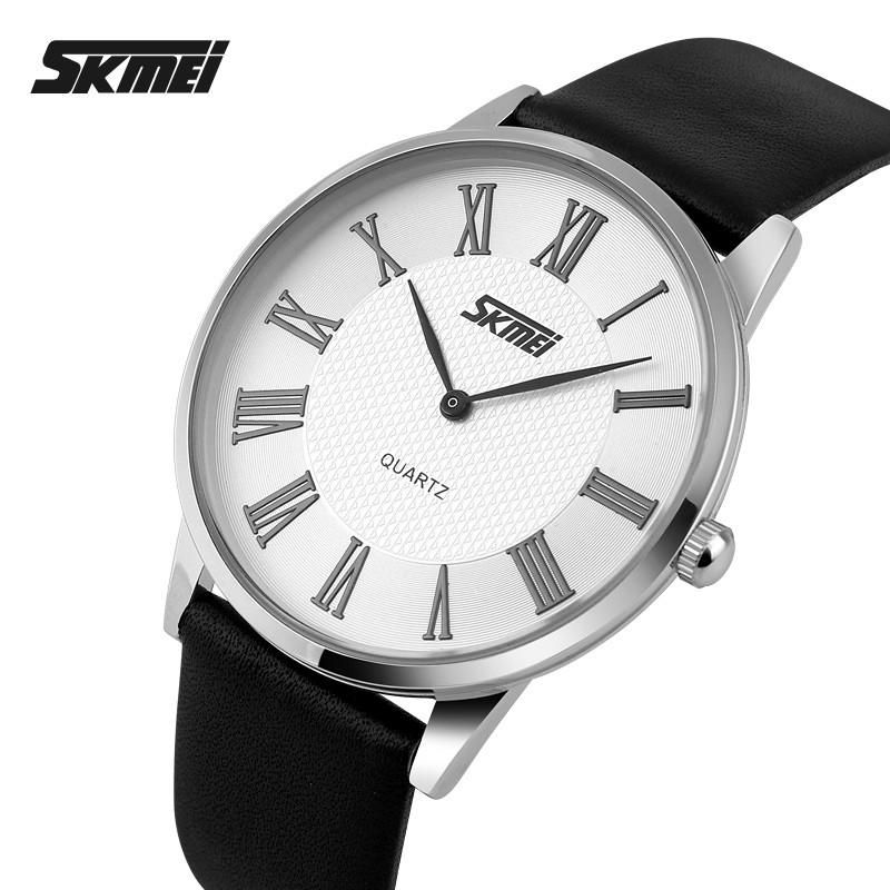 Классические часы Skmei 9092 rome мужские серебристые