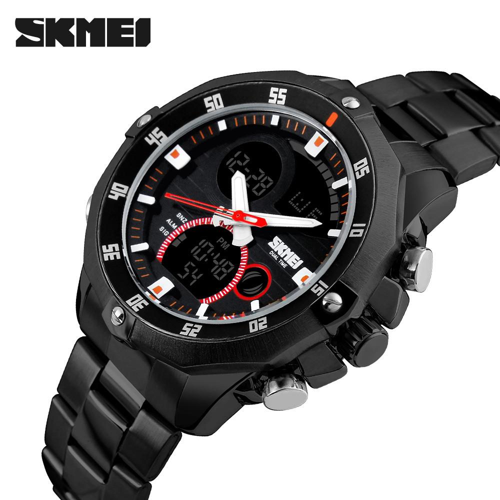 Мужские часы Skmei 1146 черные
